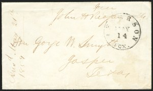 Sale Number 834, Lot Number 100, Civil War Autographs and Historical LettersJohn H. Reagan, John H. Reagan