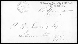 Sale Number 834, Lot Number 102, Civil War Autographs and Historical LettersWilliam Tecumseh Sherman, William Tecumseh Sherman