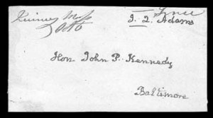 Sale Number 834, Lot Number 11, Presidential Autographs and Free FranksJohn Quincy Adams, John Quincy Adams