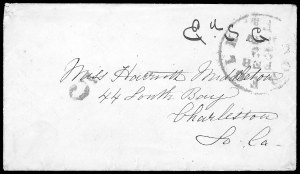 Sale Number 834, Lot Number 1386, Flag-of-Truce MailNorfolk Va. Feb. 22, 1862, Norfolk Va. Feb. 22, 1862