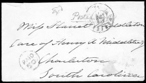 Sale Number 834, Lot Number 1387, Flag-of-Truce MailNorfolk Va. Apr. 25, Norfolk Va. Apr. 25