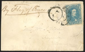 "Sale Number 834, Lot Number 1388, Flag-of-Truce Mail""By Flag of Truce"", ""By Flag of Truce"""