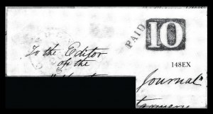 Sale Number 834, Lot Number 148, Postal Markings by State and Territory (Ohio to S.C.)Camden S.C, Camden S.C
