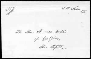 Sale Number 834, Lot Number 30, Presidential Autographs and Free FranksJames K. Polk, James K. Polk