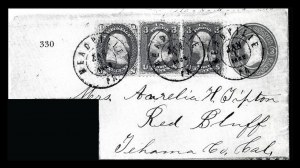 Sale Number 834, Lot Number 330, 1861-66 Issue (62B to 65)1c Blue, 3c Rose (63, 65), 1c Blue, 3c Rose (63, 65)