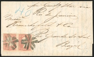 Sale Number 834, Lot Number 339, 1861-66 Issue (62B to 65)3c Rose (65), 3c Rose (65)