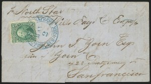 Sale Number 834, Lot Number 348, 1861-66 Issue (67 to 69)10c Yellow Green (68), 10c Yellow Green (68)