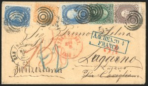 Sale Number 834, Lot Number 364, 1861-66 Issue (70a to 71)30c Orange (71), 30c Orange (71)