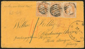 Sale Number 834, Lot Number 368, 1861-66 Issue (70a to 71)30c Orange (71), 30c Orange (71)
