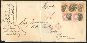 Sale Number 834, Lot Number 373, 1861-66 Issue (70a to 71)30c Orange (71), 30c Orange (71)