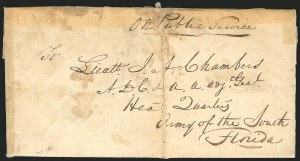 Sale Number 834, Lot Number 43, Presidential Autographs and Free FranksZachary Taylor, Zachary Taylor