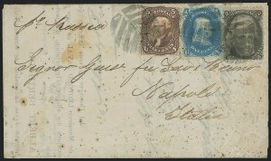Sale Number 834, Lot Number 439, Specialized Collection of 1863-68 Black Jack Issues2c Black, F. Grill (93), 2c Black, F. Grill (93)