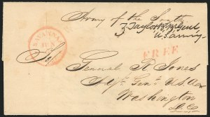 Sale Number 834, Lot Number 44, Presidential Autographs and Free FranksZachary Taylor, Zachary Taylor