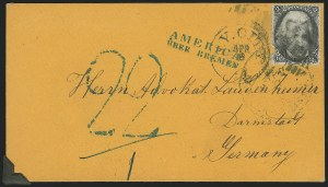 Sale Number 834, Lot Number 442, Specialized Collection of 1863-68 Black Jack Issues2c Black (73), 2c Black (73)