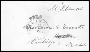 Sale Number 834, Lot Number 46, Presidential Autographs and Free FranksMillard Fillmore, Millard Fillmore