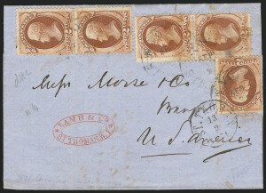 Sale Number 834, Lot Number 555, 1870-93 Bank Note Issues2c Red Brown (146), 2c Red Brown (146)
