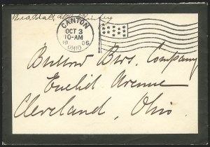 Sale Number 834, Lot Number 56, Presidential Autographs and Free FranksIda McKinley, Ida McKinley