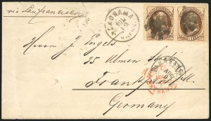 Sale Number 834, Lot Number 560, 1870-93 Bank Note Issues10c Brown (161), 10c Brown (161)