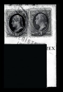 Sale Number 834, Lot Number 572, 1870-93 Bank Note Issues10c Brown, With Secret Mark (188), 10c Brown, With Secret Mark (188)