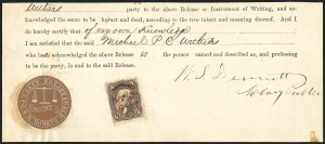 Sale Number 834, Lot Number 811, U.S. Postage Used as Revenues5c Brown (76), 5c Brown (76)
