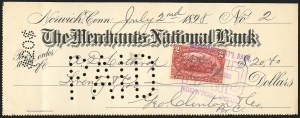 Sale Number 834, Lot Number 817, U.S. Postage Used as Revenues2c Trans-Mississippi (286), 2c Trans-Mississippi (286)
