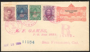 Sale Number 834, Lot Number 829, Hawaii1883, 12c Red Lilac (46), 1883, 12c Red Lilac (46)