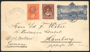 Sale Number 834, Lot Number 830, Hawaii1883, 50c Red (48), 1883, 50c Red (48)