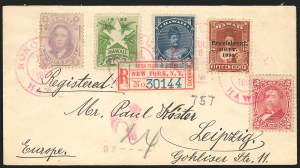Sale Number 834, Lot Number 836, Hawaii1893, 15c Red Brown, Black Ovpt. (68), 1893, 15c Red Brown, Black Ovpt. (68)