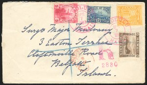 Sale Number 834, Lot Number 839, Hawaii1894, 1c, 2c 5c, 12c Final Issue (74-76, 78), 1894, 1c, 2c 5c, 12c Final Issue (74-76, 78)