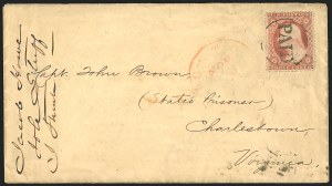 Sale Number 834, Lot Number 87, Civil War Autographs and Historical LettersJohn Brown, John Brown