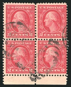 Sale Number 835, Lot Number 516, 1916-17 Washington-Franklin Issues (Scott 539 to 547)2c Carmine Rose, Ty. III, Rotary (546), 2c Carmine Rose, Ty. III, Rotary (546)