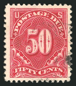 Sale Number 835, Lot Number 563, Postage Due50c Deep Claret (J50), 50c Deep Claret (J50)