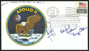 Sale Number 837, Lot Number 366, Space Flight CoversApollo 11 Flown Cover, Apollo 11 Flown Cover