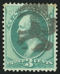 Sale Number 838, Lot Number 379, 1870-88 Bank Note Issues (Scott 146 - 155)3c Green (147), 3c Green (147)