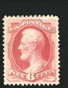 Sale Number 838, Lot Number 380, 1870-88 Bank Note Issues (Scott 146 - 155)6c Carmine (148), 6c Carmine (148)