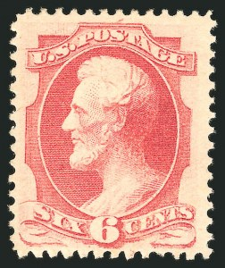 Sale Number 838, Lot Number 381, 1870-88 Bank Note Issues (Scott 146 - 155)6c Carmine (148), 6c Carmine (148)
