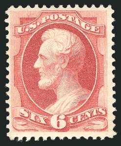 Sale Number 838, Lot Number 382, 1870-88 Bank Note Issues (Scott 146 - 155)6c Carmine (148), 6c Carmine (148)