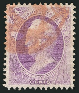Sale Number 838, Lot Number 387, 1870-88 Bank Note Issues (Scott 146 - 155)24c Purple (153), 24c Purple (153)