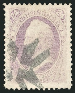 Sale Number 838, Lot Number 388, 1870-88 Bank Note Issues (Scott 146 - 155)24c Purple (153), 24c Purple (153)