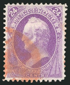 Sale Number 838, Lot Number 389, 1870-88 Bank Note Issues (Scott 146 - 155)24c Purple (153), 24c Purple (153)