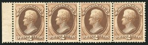 Sale Number 838, Lot Number 396, 1870-88 Bank Note Issues (Scott 156 - 166)2c Brown (157), 2c Brown (157)