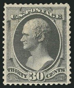 Sale Number 838, Lot Number 415, 1870-88 Bank Note Issues (Scott 156 - 166)30c Gray Black (165), 30c Gray Black (165)