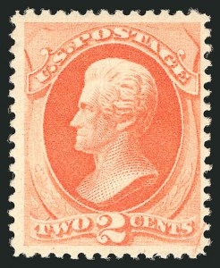 Sale Number 838, Lot Number 429, 1870-88 Bank Note Issues (Scott 178 - 190)2c Vermilion (183). Mint N.H, 2c Vermilion (183). Mint N.H