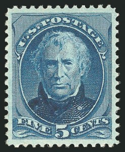 Sale Number 838, Lot Number 434, 1870-88 Bank Note Issues (Scott 178 - 190)5c Blue (185), 5c Blue (185)