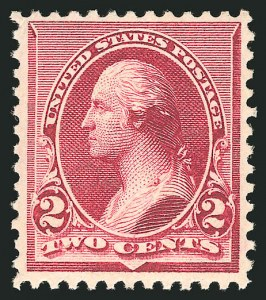 Sale Number 838, Lot Number 500, 1890 Small Bank Note Issue2c Lake (219D), 2c Lake (219D)