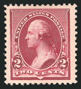 Sale Number 838, Lot Number 501, 1890 Small Bank Note Issue2c Lake (219D), 2c Lake (219D)