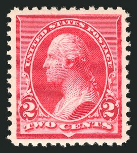 Sale Number 838, Lot Number 502, 1890 Small Bank Note Issue2c Carmine (220), 2c Carmine (220)
