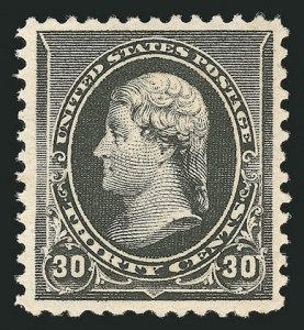 Sale Number 838, Lot Number 512, 1890 Small Bank Note Issue30c Black (228), 30c Black (228)