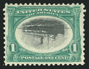 Sale Number 838, Lot Number 661, Pan-American Issue, including inverts1c Pan-American, Center Inverted (294a), 1c Pan-American, Center Inverted (294a)