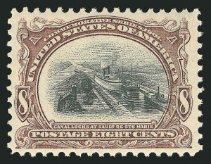 Sale Number 838, Lot Number 671, Pan-American Issue, including inverts8c Pan-American (298), 8c Pan-American (298)
